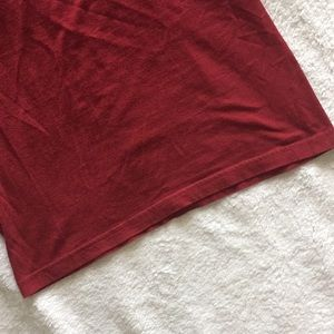 American Apparel Tops - American Apparel Classic Girl crimson muscle top